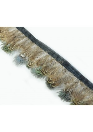 Pheasant Plumage Feather Fringe Trims 2 yards Perfect trimming costumes 015
