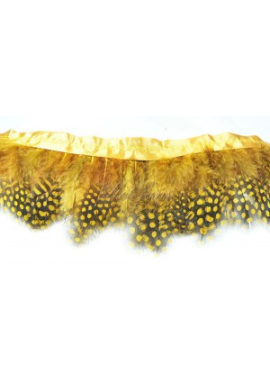 Pheasant Plumage Feather Fringe Trims 2 yards Perfect trimming costumes 016