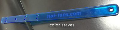 color staves