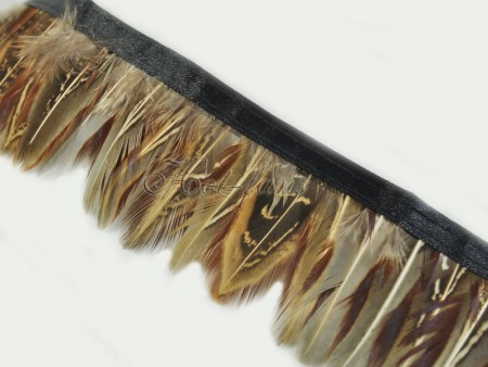 Pheasant Plumage Feather Fringe Trims 2 yards Perfect trimming costumes 005
