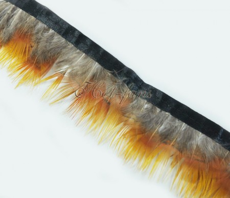 Pheasant Plumage Feather Fringe Trims 2 yards Perfect trimming costumes 008